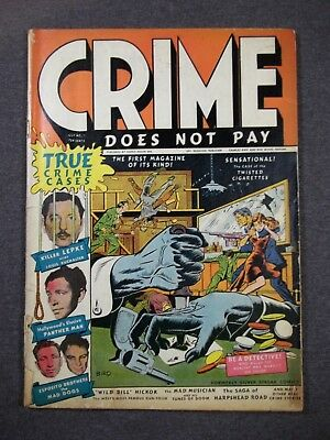Crime Does Not Pay #22  First issue!