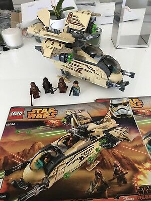 Lego 75084 Star Wars Rebels Wookiee Gunship Complete