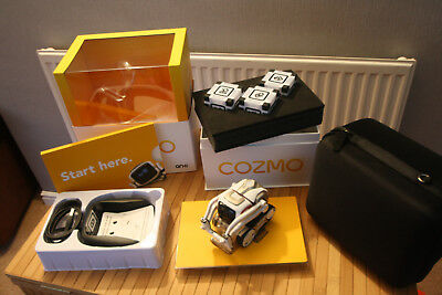 Cozmo Anki Robot & Carry Case - Complete with all items & Carry Case