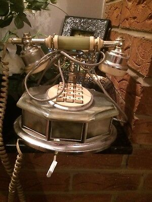 Mother Of Pearl Retro Telephone