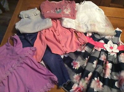 Girls Clothing Bundle 18-24 Months River Island, F&F TU