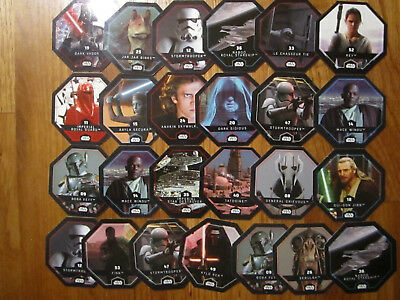Lot Jetons STAR WARS / Leclerc