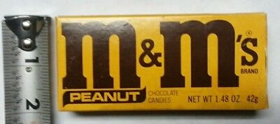 Vintage Unopened Box Of M&Ms Candy Dated 1984, VERY COOL!!!