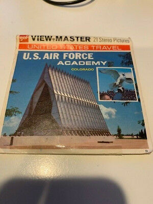 US Air Force Academy Colorado Sawyer's Viewmaster Reels Packet A 326 USAF