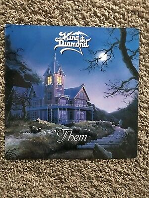 King Diamond - Them (Roadrunner Records NL 1988, innersleeve incl. lyrics)