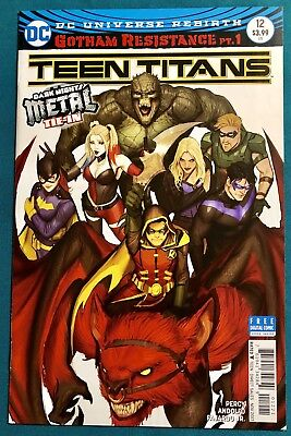 TEEN TITANS 12 COVER B 1st PRINT • NM • 1st APPEARANCE OF BATMAN WHO LAUGHS  DC