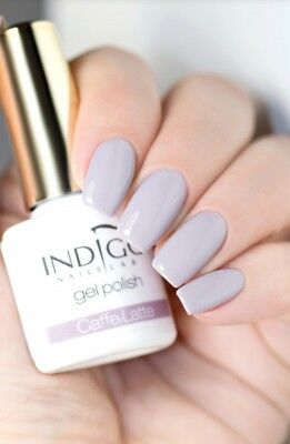 INDIGO NAILS LAB Gel Polish Hybrid 5ml soak off UV LED Caffe Latte