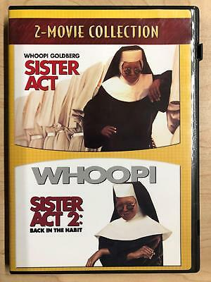 Sister Act - Sister Act 2 Back in the Habit (DVD, double feature) - E1216