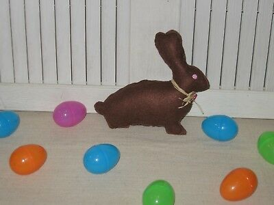 Handmade Fabric Bowl Filler Chocolate Easter Bunny