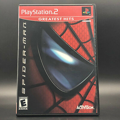 Spider-Man (Sony PlayStation 2, PS2) *COMPLETE IN NEW CASE - TESTED - SHIPS FAST