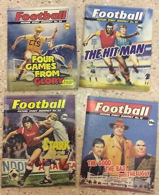 Football Picture Story Monthly Vintage Comic Lot
