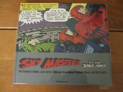 Sky Masters of the Space Force: the Complete Dailies hardcover hc - Jack Kirby
