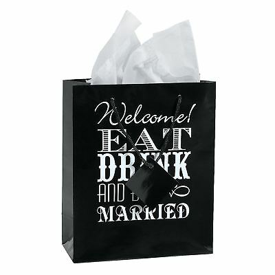 12 x Eat, Drink And Be Married Welcome Bags