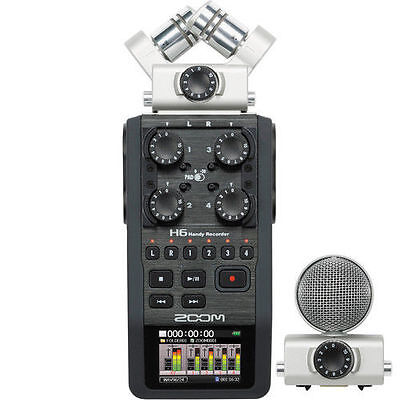 Zoom H6 Digital Recorder