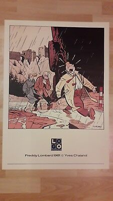 affiche Freddy Lombard Yves Chaland
