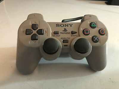 Sony Playstation 1 PS1 Official Gray Controllers SCPH-1200 Dual Shock