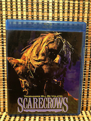 Scarecrows (Blu-ray, 2015)Scream Factory.Horror.Writer<The Vagrant>