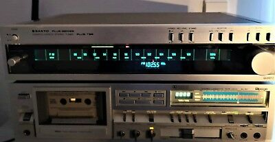 Sanyo Plus Series T35 Quartz Locked Stereo Am Fm Tuner  Exx++