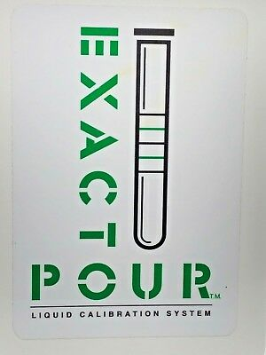 3-Tube EXACTO-POUR Bartender Training System - Teach Yourself to Properly Pour