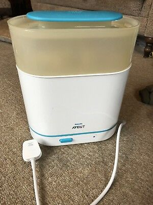 Used Phillips Avent 3 In 1 Electric Bottle steriliser