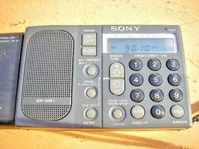 SONY ICF-SW1 SW/AM/FM Radio - Purchased in Japan in 1980's - Very High Quality