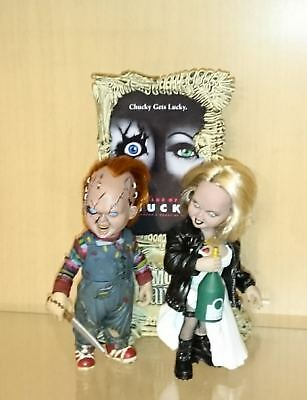 McFarlane Movie Maniacs Bride of Chucky Deluxe Boxed Set