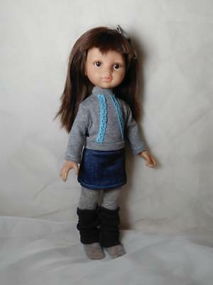 """Paola Reina 32cm 13""""-14"""" Doll Sweater and skirt Clothes Girls"""