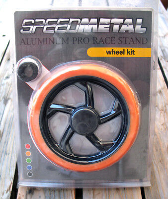 SPEEDMETAL Aluminium Pro Race Stand Replacement Wheels Kit