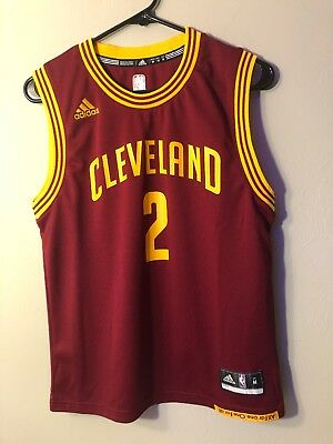 29978e02b Kyrie Irving Cleveland Cavaliers NBA Adidas Jersey Wine   Gold Youth Medium