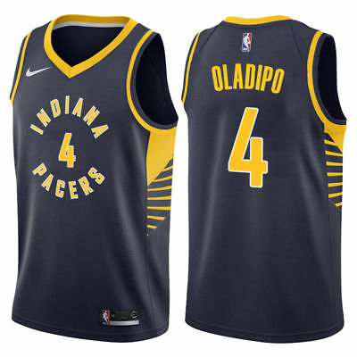 ... denmark brand new nike victor oladipo 4 indiana pacers icon edition  swingman jersey b31c5 6181b 37f5c9d6d