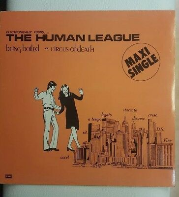 "The Human League ‎– Being Boiled / Circus Of Death 12"" VINYL  GER.PRESS."