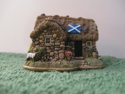 """Lilliput Lane L2877 """"Culloden Cottage"""" New - Mint in original box with deed."""