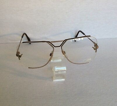 Vintage Cazal Mod 722 Men's Eyeglasses Frame, Made W Germany, Clean