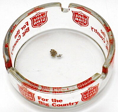 "Vintage Lone Star Beer ""For the Big Country"" Ashtray"