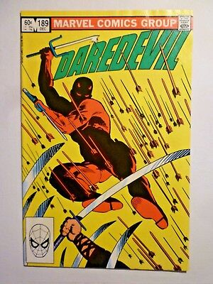 Daredevil 189 Dec 1982 Marvel Comics