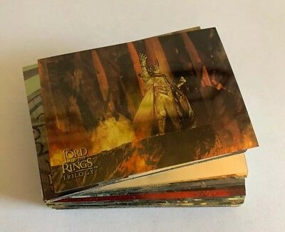 Lord Of The Rings Trilogy - Topps Chrome Trading Cards (Lot of 48)