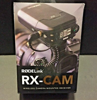 RX-CAM Rode Microphones RODELink Wireless Camera-Mounted Microphone RECEIVER NW