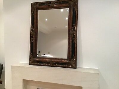 Very Attractive and Highly Decorative Large Italian Antique Style Mirror