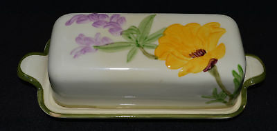 Franciscan POPPY Butter Dish