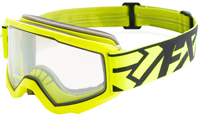 FXR SQUADRON Snow Winter Sports  GOGGLES - Hi Vis  / Black  - ONE SIZE - NEW