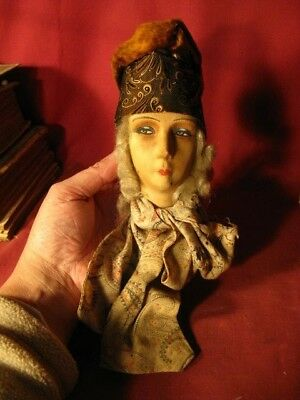 ANTIQUE French Art Deco BOUDOIR DOLL Head