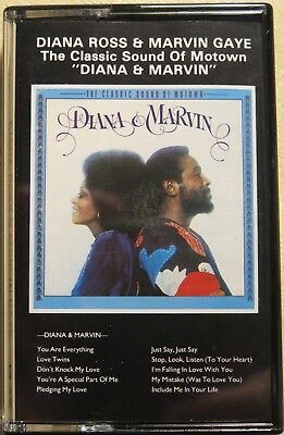Diana Ross & Marvin Gaye - Diana & Marvin (Rare German Cassette Album)