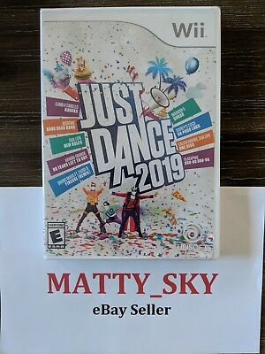 Just Dance 2019 Nintendo Wii Video Game*Brand New / Sealed*