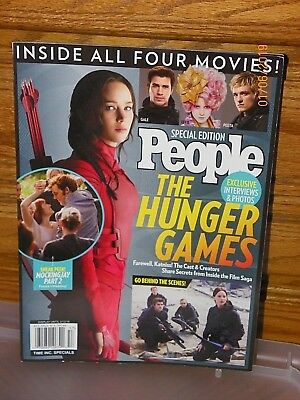 PEOPLE Magazine HUNGER GAMES Special/Collector's Editions