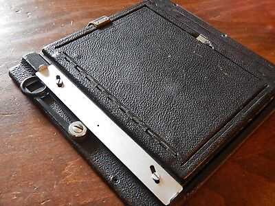 Graflex - Speed & Crown Graphic 4x5 Spring Back with Focusing Hood