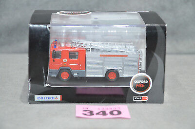 Oxford 76DN003 Greater Manchester Fire Brigade Dennis RS Fire Engine 1:76 New