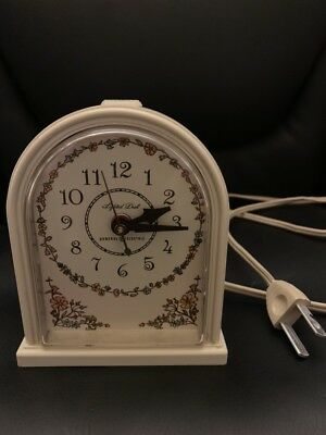 Vintage GE General Electric Domed Alarm Clock 7404-4A WORKS Made in USA