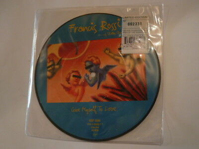 """FRANCIS ROSSI Give Myself To Love - 7"""" PICTURE DISC - Virgin VSP 1594 - new!"""