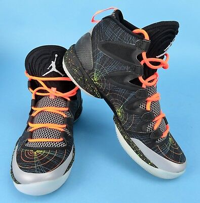new products 6d259 6d4b5 Nike Air Jordan XX8 SE UK7 616345 025 Black Basketball Boot Trainers 41  Orange