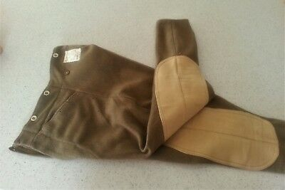 WWII Canadian British Dispatch Riders Breeches Pant 1943